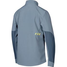 Fox Attack Fire Jacket Men blue steel
